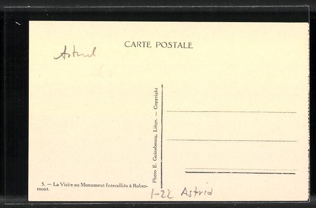 AK Liege Luttich Astrid Von Belgien Und Prinz Leopold 1926 Nr