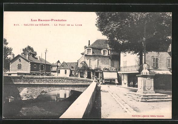 AK Salies-de-Béarn, le pont de la Lune