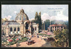 Künstler-AK Milano, Esposizione di Milano 1906, Padiglione del Sud America