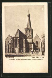 Künstler-AK Barneveld, Jan van Schaffelaartoren