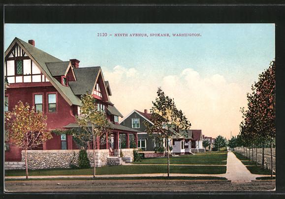 AK Spokane, WA, Ninth Avenue 0