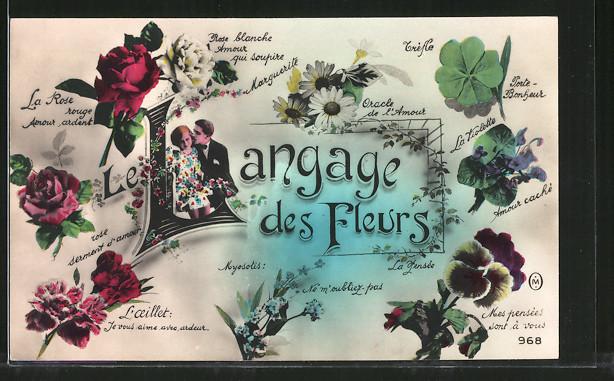 AK Blumensprache, Langage des Fleurs