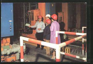 AK Aus der Arbeit der Feuerwehr, Brandschutz, DDR