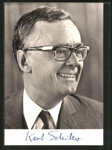 AK Prof. Dr. Karl Schiller, Bundesminister für mWirtschaft