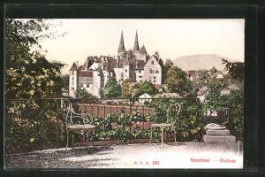 AK Neuchatel, Chateau, Blick zum Schloss