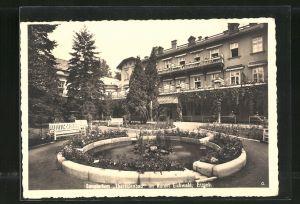 AK Eichwald, Blick auf das Sanatorium Theresienbad