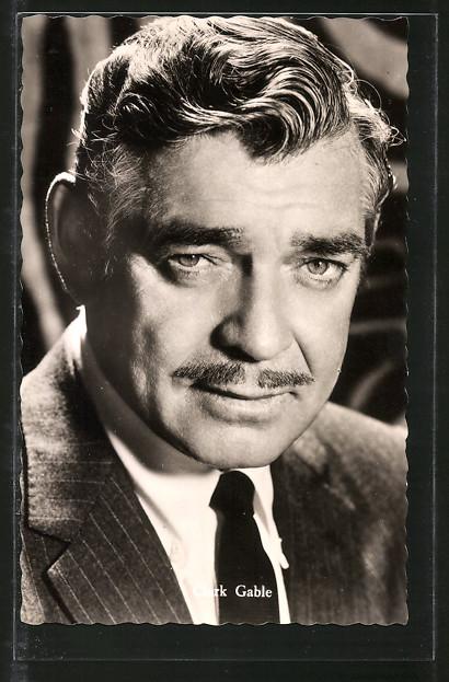 AK Schauspieler Clark Gable in