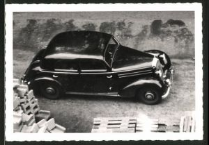Fotografie Auto Mercedes Benz, schwarze Limousine