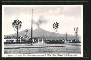 AK Napoli la nuova Via Litoranea inagurata da S.M. il Re d'Italia il 15 Maggio 1927