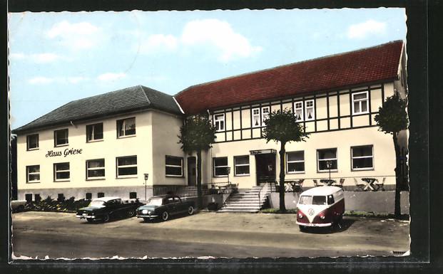 AK Körbecke Möhnesee Hotel Restaurant Haus Griese