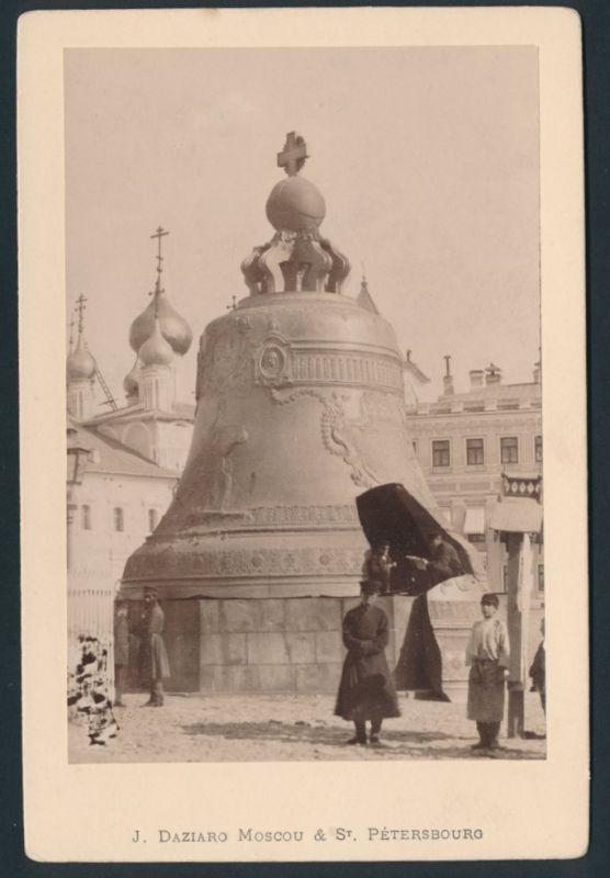 Fotografie J. Daziaro, Moskau & St. Petersburg, Ansicht Moskau, Zarenglocke