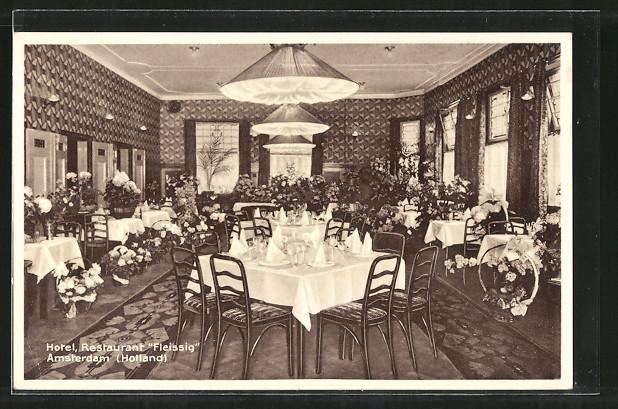 AK Amsterdam, Hotel Restaurant