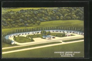 AK Henderson, KY, Gateway Motor Court, U.S. Highway 41