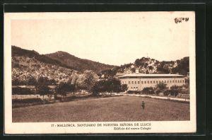 AK Lluc, Santuario de Nuestra Senora de Lluch, Edificio del nuevo Colegio