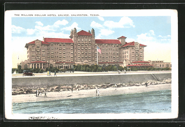 AK Galveston, TX, The Million Dollar Hotel Galvez