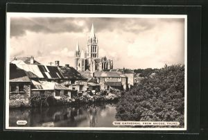 AK Truro, The Cathedral from the Bridge