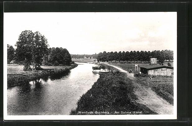 AK Wendisch-Buchholz, Partie am Dahme-Kanal