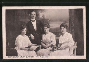 AK Elite-Damen-Salon-Quartett, Dir. Hugo Anger