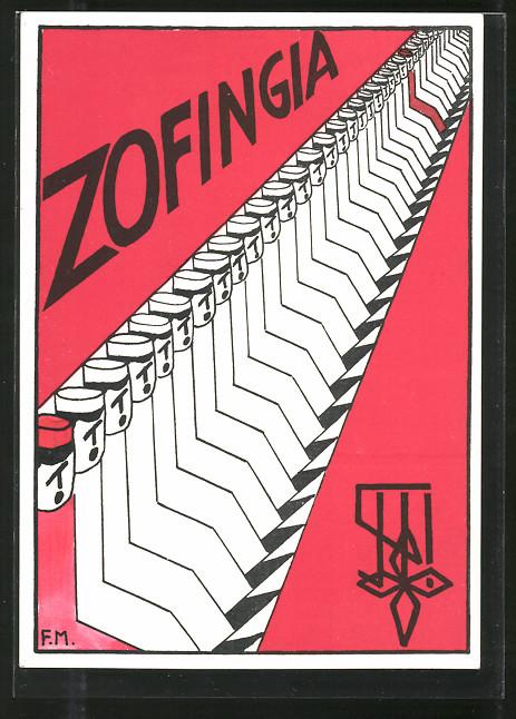 Künstler-AK Zürich, studentische Vereinigung