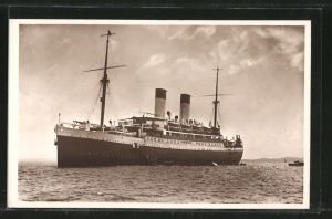 AK Passagierschiff Monte Sarmiento, Hamburg-Südam. Dampfschiffahrts-Gesellschaft