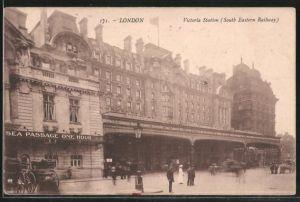AK London, Victoria Station