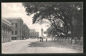 AK Colombo, Queen Street showing Clock Tower