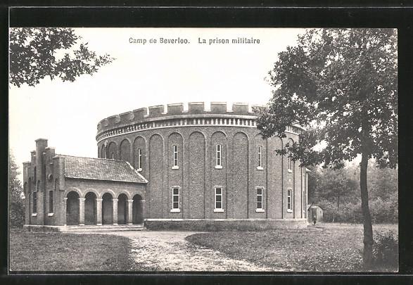 AK Camp de Beverloo, La prison militaire