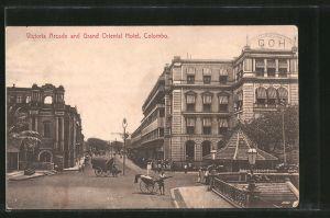 AK Colombo, Victoria Arcade and Grand Oriental Hotel