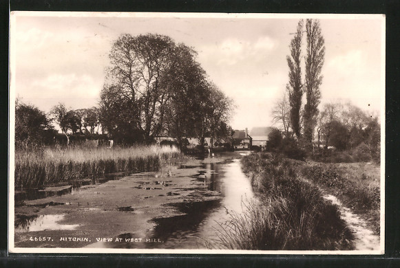 AK Hitchin, View at West Mill 0