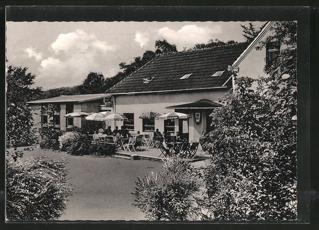 AK Blankenstein-Buchholz, Blick auf das Gasthaus