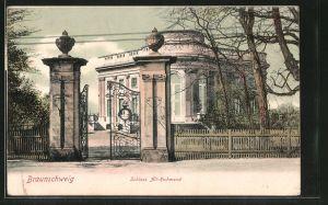 AK Braunschweig, Blick auf Schloss Richmond