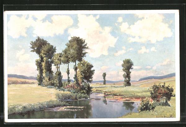 Künstler-AK Wohlgemuth & Lissner, Primus-Postkarte No. 03392,