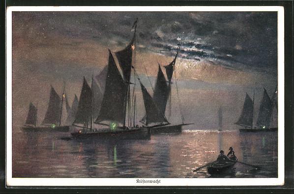 Künstler-AK Wohlgemuth & Lissner, Primus-Postkarte No. 1151,
