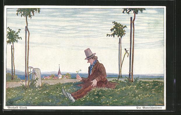 Künstler-AK Wohlgemuth & Lissner, Primus-Postkarte No. 3109,