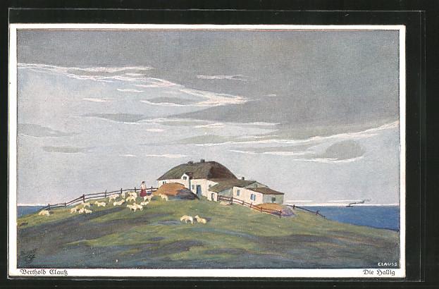 Künstler-AK Wohlgemuth & Lissner, Primus-Postkarte No. 3110,