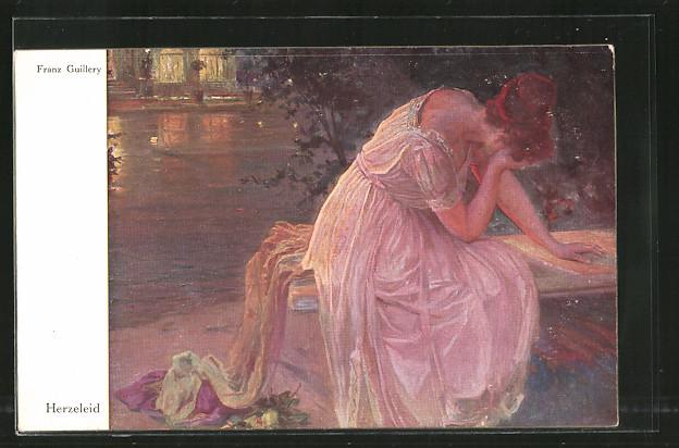 Künstler-AK Wohlgemuth & Lissner, Primus-Postkarte No. 3025,