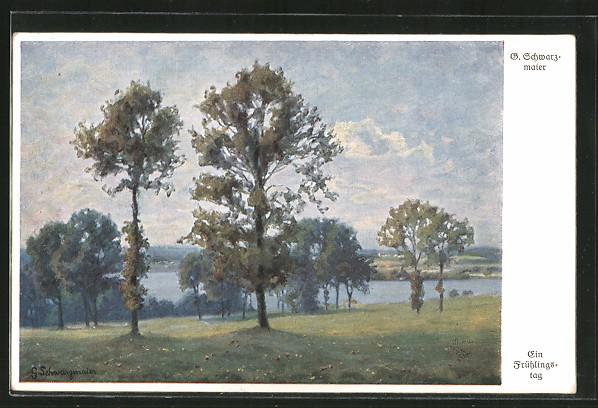 Künstler-AK Wohlgemuth & Lissner, Primus-Postkarte No. 3159,