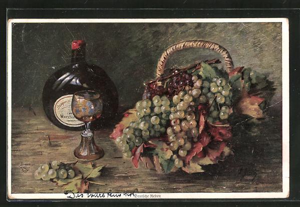 Künstler-AK Wohlgemuth & Lissner, Primus-Postkarte No. 175,