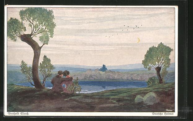 Künstler-AK Wohlgemuth & Lissner, Primus-Postkarte No. 3103,