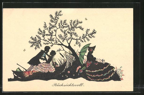 Künstler-AK Wohlgemuth & Lissner, Primus-Postkarte No. 2103,