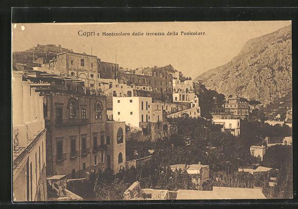 AK Capri, Montesolaro dalla terrazza della Funicolare Nr. 7346177 ...