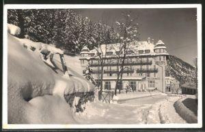 AK Trafoi, Hotel Posta im Winter