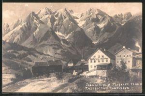 AK Tobadill, Gasthaus zum Touristen