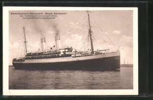 AK Hamburg-Süd. Passagierschiff Monte Sarmiento