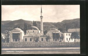 AK Sarajewo, Strassenpartie an der Moschee