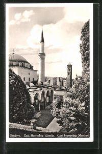 AK Sarajewo, Blick auf die Gazi Husrevbeg Moschee