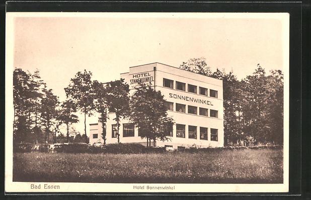 AK Bad Essen, Hotel Sonnenwinkel, Bauhaus