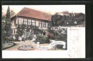 AK Bad Iburg, Schloss Iburg, Restaurant Forsthaus Freudenthal