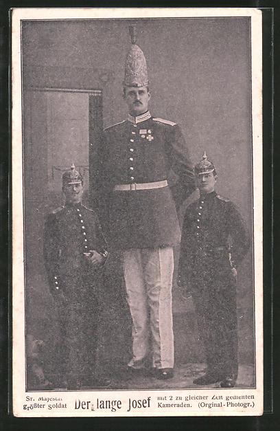 AK Seiner Majestät' grösster Soldat