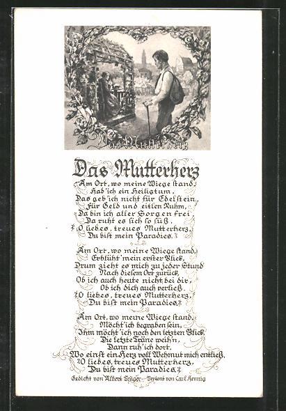 Gedicht von mutter an sohn